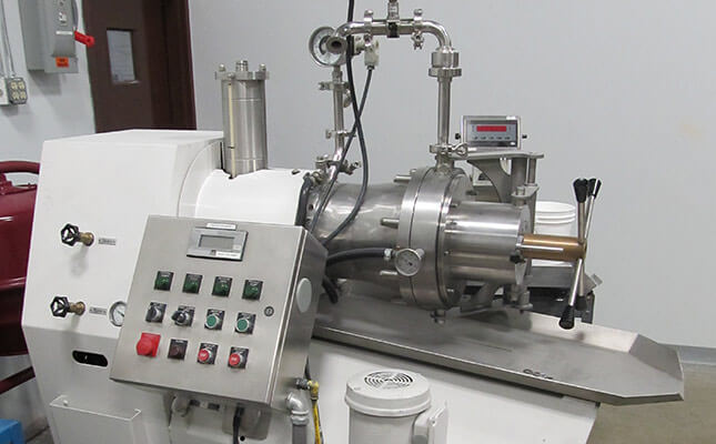 dispersion and bead milling process