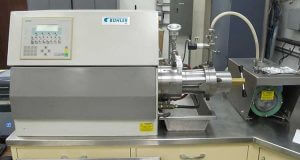 jet milling and dispersion machine