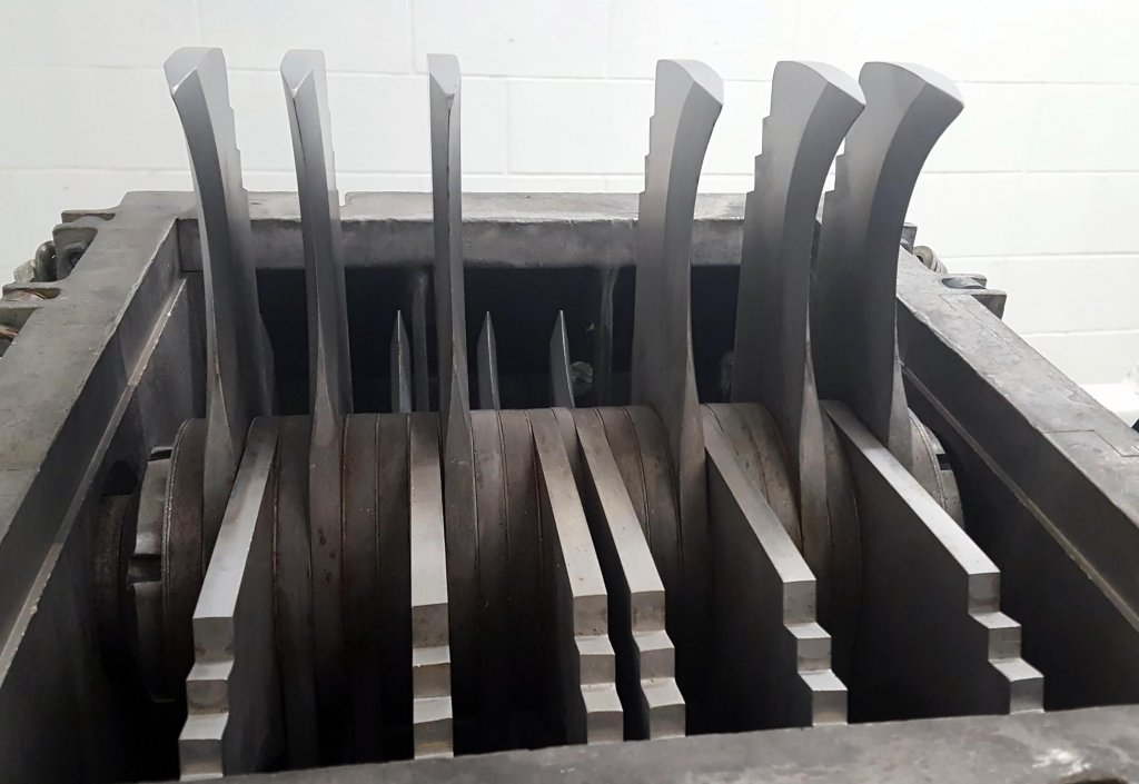 A look inside an AVEKA Hammer Mill